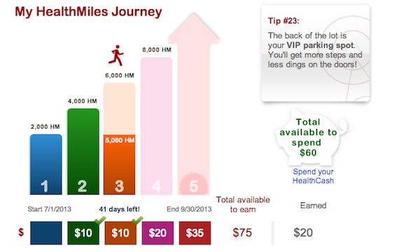 Virgin Healthmiles employee wellness program